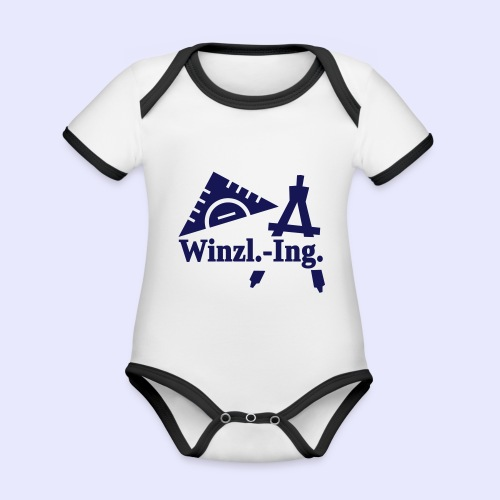 Winzling2 - Baby Bio-Kurzarm-Kontrastbody