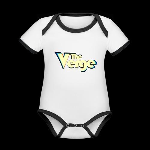 The Verge Vin - Body Bébé bio contrasté manches courtes