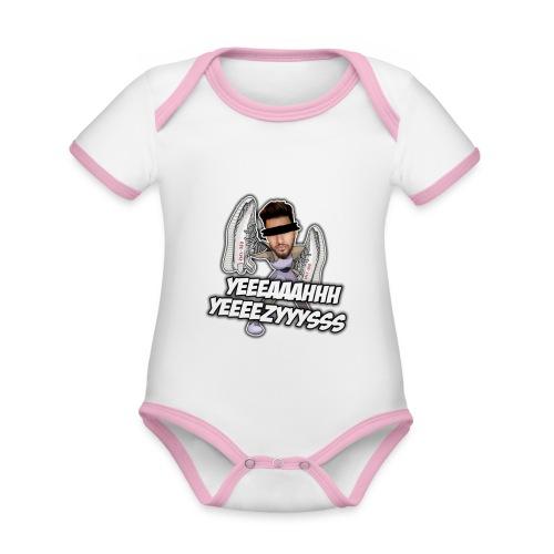 Yeah Yeezys! - Baby Bio-Kurzarm-Kontrastbody