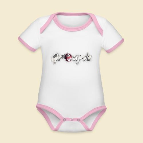 Radball   Cycle Ball Groupie - Baby Bio-Kurzarm-Kontrastbody