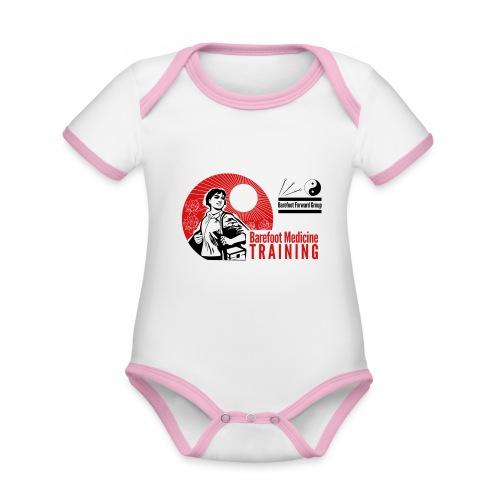 Barefoot Forward Group - Barefoot Medicine - Organic Baby Contrasting Bodysuit
