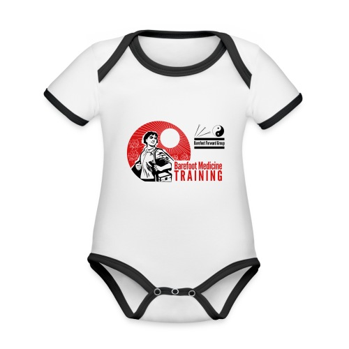 Barefoot Forward Group - Barefoot Medicine - Organic Baby Contrasting Bodysuit