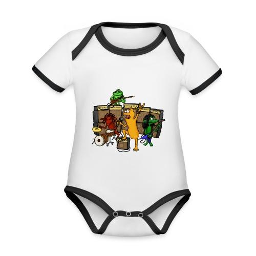Kobold Metal Band - Organic Baby Contrasting Bodysuit