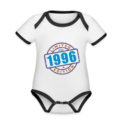 LIMITED EDITION SINCE 1996 - Baby Bio-Kurzarm-Kontrastbody