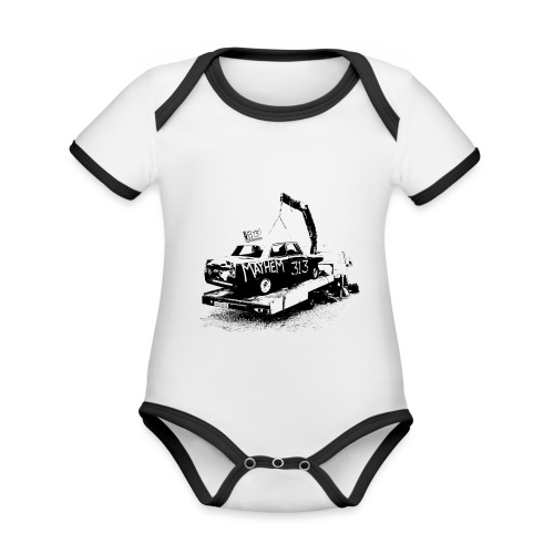 Mayhem! - Organic Baby Contrasting Bodysuit