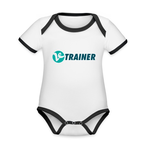 VTRAINER - Body contraste para bebé de tejido orgánico