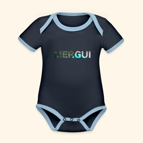 MERGUI - Organic Baby Contrasting Bodysuit