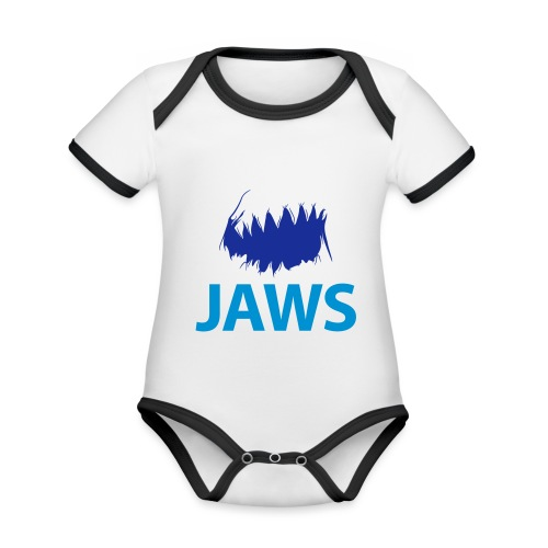 Jaws Dangerous T-Shirt - Organic Baby Contrasting Bodysuit