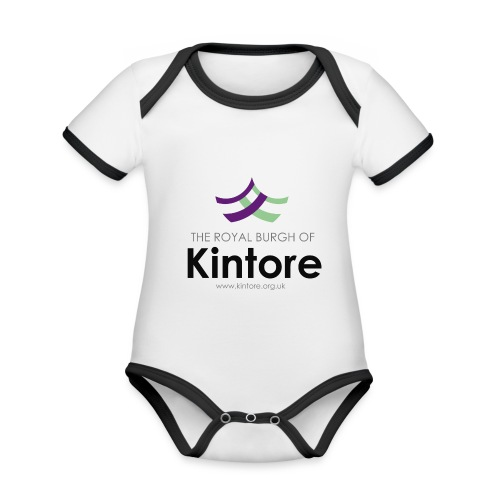 Kintore org uk - Organic Baby Contrasting Bodysuit