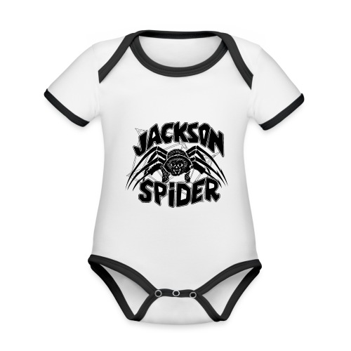 jackson spreadshirt - Baby Bio-Kurzarm-Kontrastbody