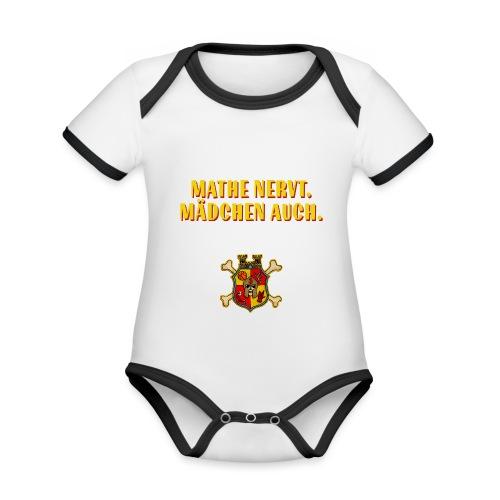 Wappen - Baby Bio-Kurzarm-Kontrastbody