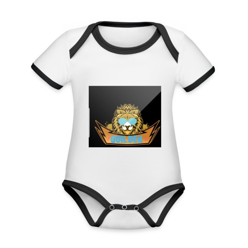 20200216 104401 - Ekologisk kontrastfärgad kortärmad babybody
