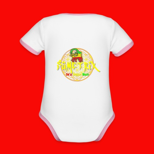SÜMETRIX FANSHOP - Baby Bio-Kurzarm-Kontrastbody