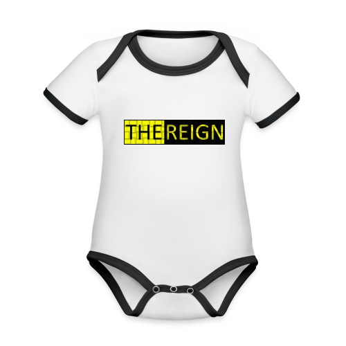 theREIGN Logowear - Organic Baby Contrasting Bodysuit