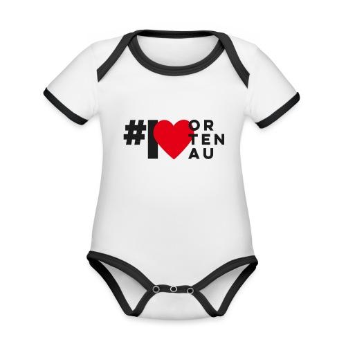 # I LOVE ORTENAU - Baby Bio-Kurzarm-Kontrastbody