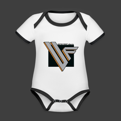 United Front - Vauvan kontrastivärinen, lyhythihainen luomu-body