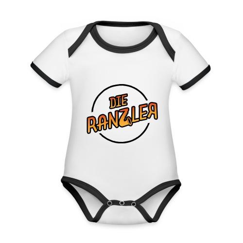 Die Ranzler Merch - Baby Bio-Kurzarm-Kontrastbody