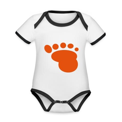 Babyfuss - Baby Bio-Kurzarm-Kontrastbody