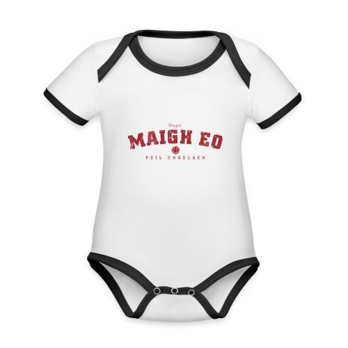 mayo vintage - Organic Baby Contrasting Bodysuit
