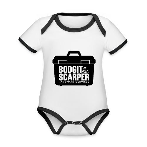 Bodgit & Scarper - Organic Baby Contrasting Bodysuit