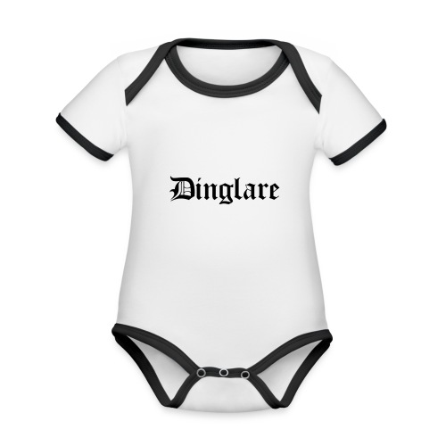 626878 2406568 dinglare orig - Ekologisk kontrastfärgad kortärmad babybody
