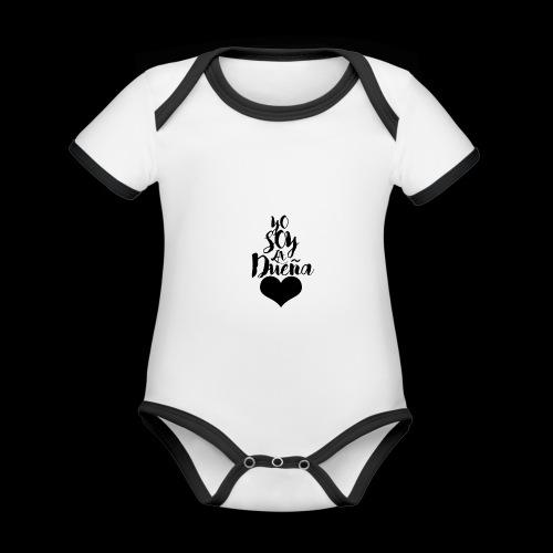 TENGO DUEN A - Body contraste para bebé de tejido orgánico