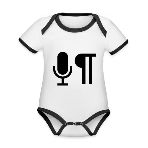 Logo der Shownot.es (@DieShownotes) - Baby Bio-Kurzarm-Kontrastbody