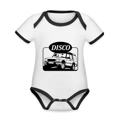 Landie Disco - Autonaut.com - Organic Baby Contrasting Bodysuit