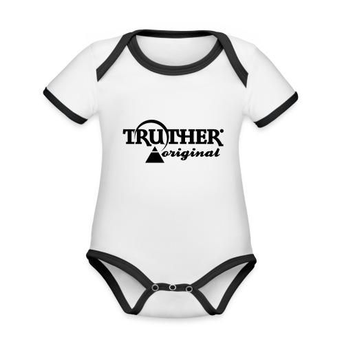 Truther - Baby Bio-Kurzarm-Kontrastbody