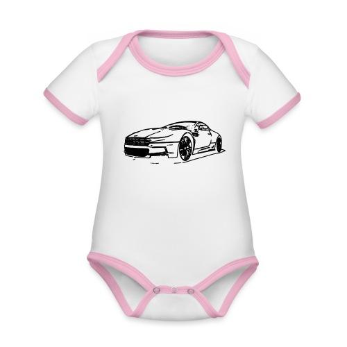 Aston Martin - Organic Baby Contrasting Bodysuit