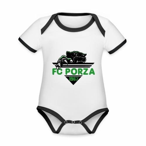 FC Porza 1 - Baby Bio-Kurzarm-Kontrastbody