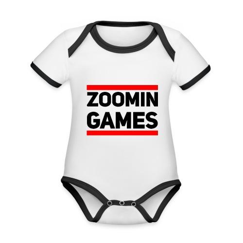 9815 2CRUN ZG - Organic Baby Contrasting Bodysuit