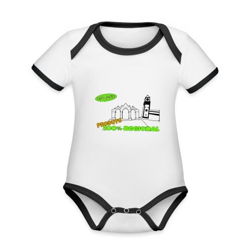 City Gates - Organic Baby Contrasting Bodysuit