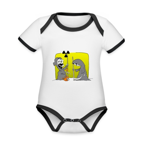 Nuclear Progress - Organic Baby Contrasting Bodysuit