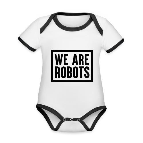 We Are Robots Premium Tote Bag - Organic Baby Contrasting Bodysuit