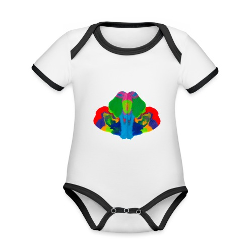 9103 Motiv 99 - Baby Bio-Kurzarm-Kontrastbody