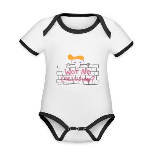 Trump's Wall - Organic Baby Contrasting Bodysuit