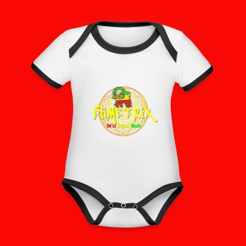 SÜEMTRIX-FANSHOP - Baby Bio-Kurzarm-Kontrastbody