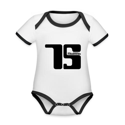 Rollerball 1975 Team shirt - Organic Baby Contrasting Bodysuit