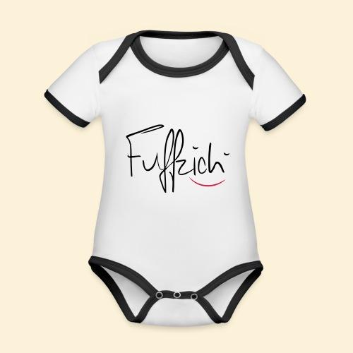 fünfzig - Baby Bio-Kurzarm-Kontrastbody
