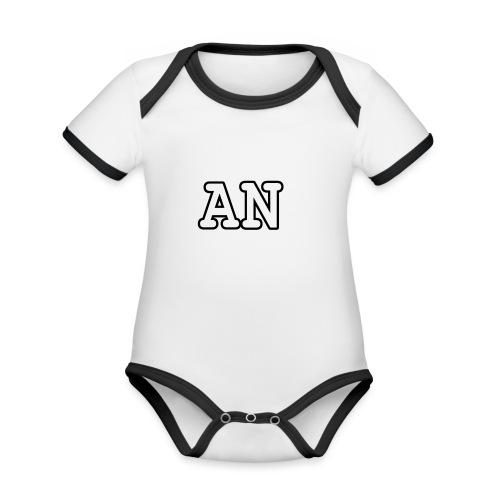 Alicia niven Merch - Organic Baby Contrasting Bodysuit