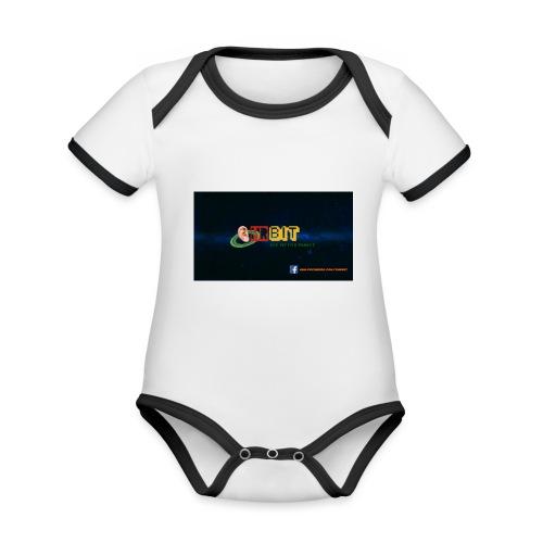 OhrBit Logo - Baby Bio-Kurzarm-Kontrastbody