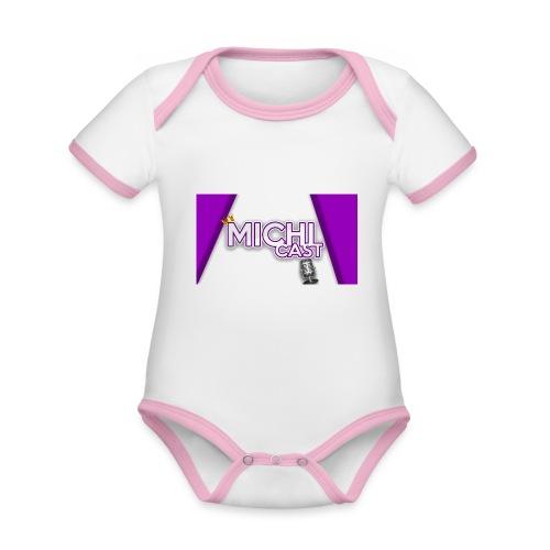 Camisa MichiCast - Organic Baby Contrasting Bodysuit
