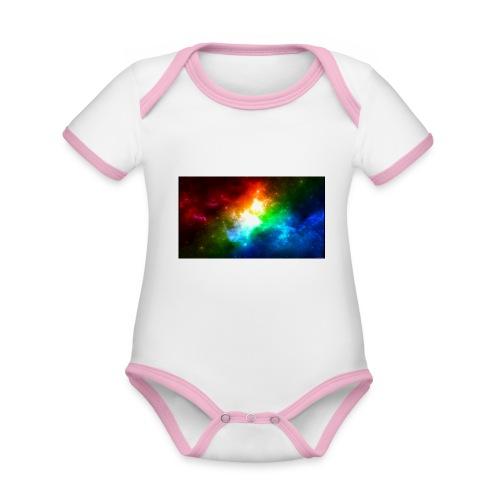 d2ZQqX - Body contraste para bebé de tejido orgánico