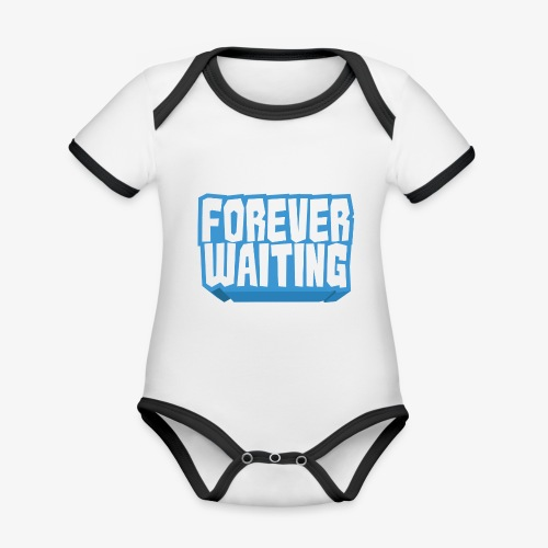 Forever Waiting - Organic Baby Contrasting Bodysuit
