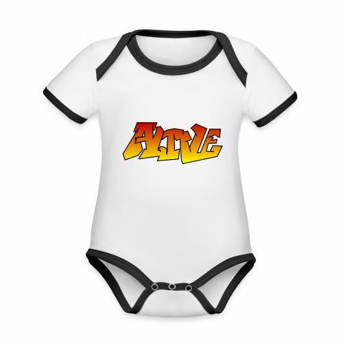 ALIVE CGI - Organic Baby Contrasting Bodysuit
