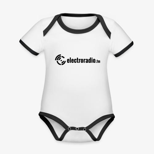 electroradio.fm - Baby Bio-Kurzarm-Kontrastbody