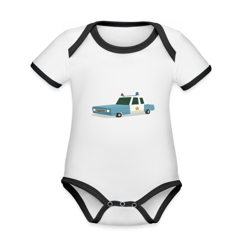 Calling all units - Organic Baby Contrasting Bodysuit