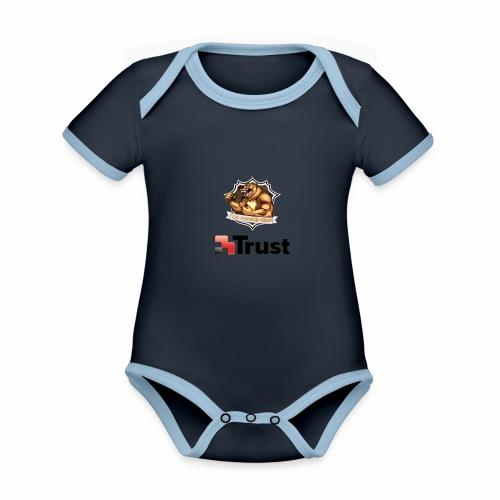 Prodotti Ufficiali con Sponsor della Crew! - Body da neonato a manica corta, ecologico e in contrasto cromatico
