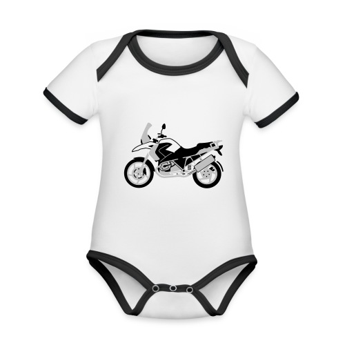 R1200GS 08-on - Organic Baby Contrasting Bodysuit